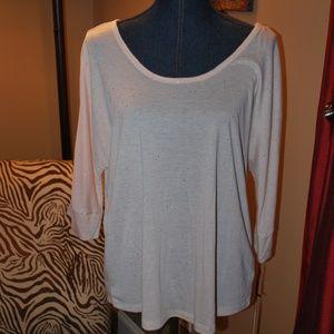 Juicy Couture Sequin Dream scoop neck t-shirt